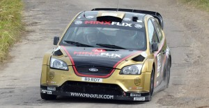Britain's Paul Bird repeated as the Sol Rally Barbados champion. His navigator is Aled Davies.