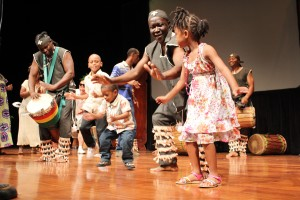 And with the Crop–Over season revving up and calypsos rotating regularly on the radio, it was a different pace for these young ones to digest some of the traditional African dances that Afrikan Master, M'Bemba Bangoura, demonstrated.