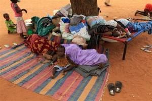 Refugees in Sudan.