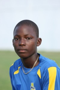 Barbados' Dominic Drakes took three cheap wickets.