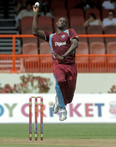 Fast bowler Jason Holder will hope to fire once more tomorrow.