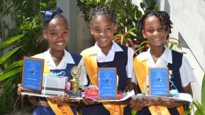 Alisha Smith, Nyeisha Jones, Rashanna Burt.