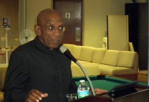 Governor of the Central Bank of Barbados, Dr Delisle Worrell