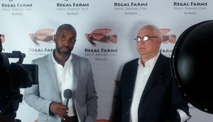 RIchard Alleyne and David Silverberg of Regal Farms.