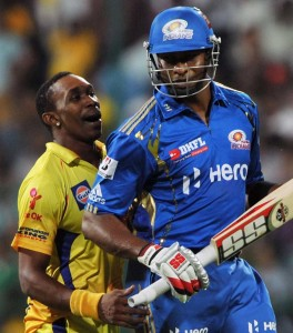 Trinidadians Dwayne Bravo (left) and Kieron Pollard among those opting not to play for their home country..