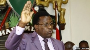 Johnston Kavuludi was appointed last year to reform Kenya's police service.