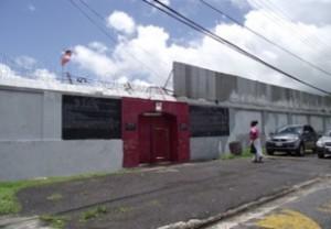 The prison in Antigua