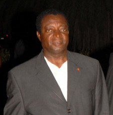 "Minister of Culture Eleston ""Namba"" Adams"