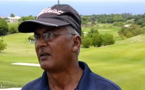 Arjune Samlall says he has come to Barbados to win the championship.