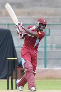Jonathan Carter's blistering century set up West Indies A's victory today.