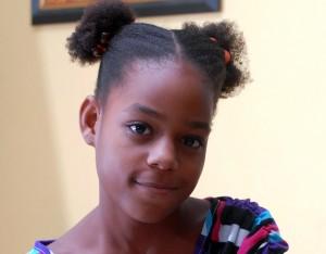 10-year-old Junior Monarch Finalist Princess Thomas