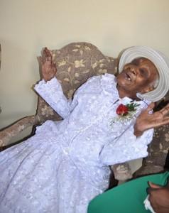 Centenarian Una Elise Callender