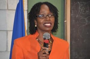 Deputy executive director of the Caribbean Disaster Emergency Management Agency, Elizabeth Riley.