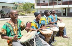 Drummers of the Pinelands Creative Workshop.