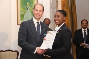 Duke of Edinburgh Awardee Chloe Walker