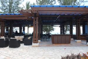 Expansive bar at Pure Ocean