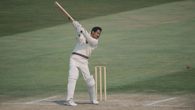 Gary Sobers of the West Indies in action against England. Photo courtesy Getty Images.