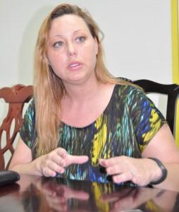 Jennifer Gracey, 2014 vice-president of Junior Chamber International.