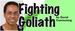 fighting goliath