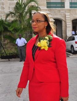 MP Maria Agard