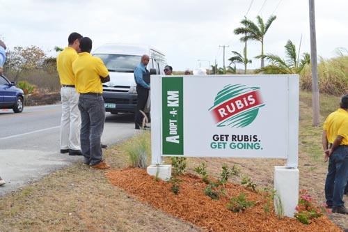 Rubis is one of the corporate sponsors of the Adopt-a-KM initiative