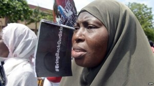 For the past week there have been daily protests countrywide calling for more to be done to find the girls.