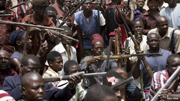 Villagers have been forming vigilante groups to protect their communities from militant attacks