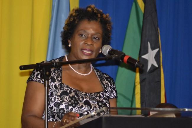 Recipient of CARICOM's prestigious Triennial Award for Women, Bahamian Marion Bethel.