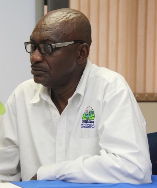 UDC Director Derek Alleyne