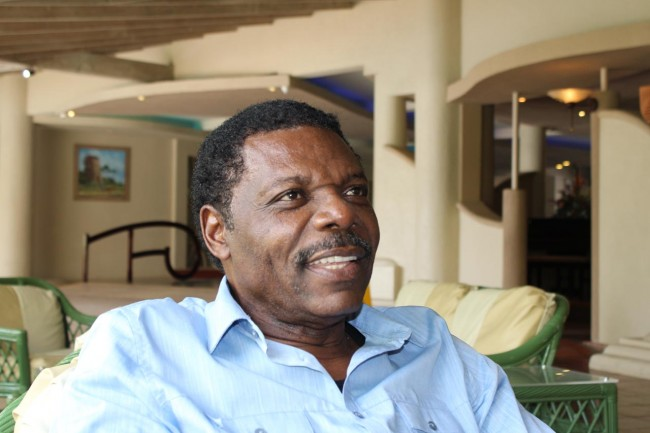 Hal Martin, the financial consultant who brought Dr Oniko to Barbados.