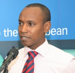 Senior commercial manager of LIAT, Derrick Frederick.