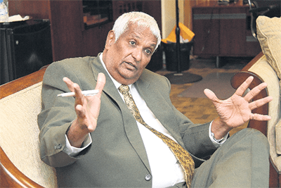 Foreign Affairs Minister Winston Dookeran did not support the vote.