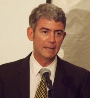 Author Matthew Parker delivered the lecture.