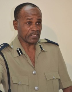 Acting Commissioner of Police Tyrone Griffith