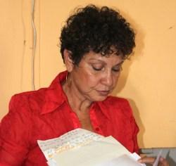 BSTU president Mary Anne Redman.