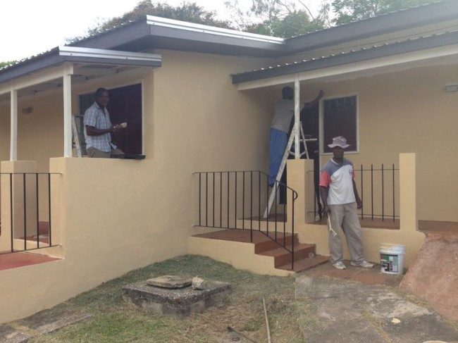 Harris face lift Senior Citizens Village.