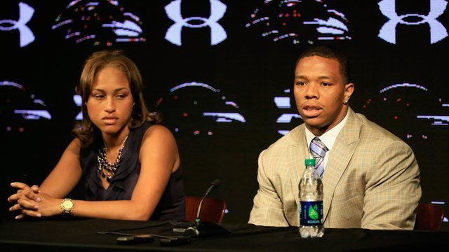 Ray Rice was initially suspended for only two games after striking his then-fiancee Janay Palmer in February.