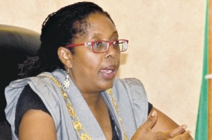Kingston Mayor Angela Brown Burke