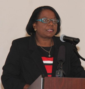 Director of planning in the Ministry of Finance in St Vincent and the Grenadines Laura Anthony-Browne.