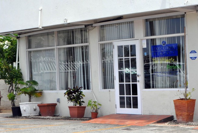 The office of Executive Rentals on Worthing has effectively been closed.