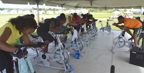 Spin can burn a minimum of 500 calories.