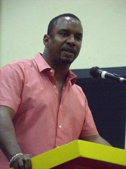 Senator Wilfred Abrahams, the Opposition spokesman on the Environment
