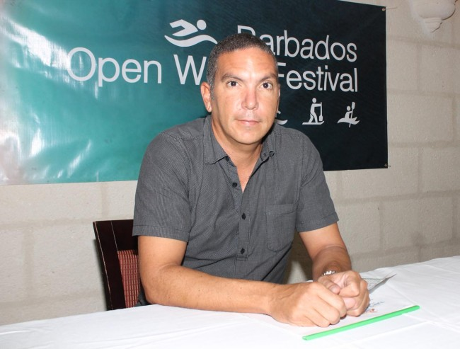 Director of the Barbados Open Water Festival, Zaryl Evelyn.