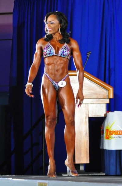 Ramona Morgan was tops in the figure competition.