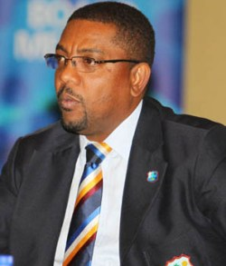 WICB president Dave Cameron