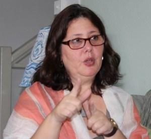 Outgoing Cuban Ambassador to Barbados Lisette Perez Perez
