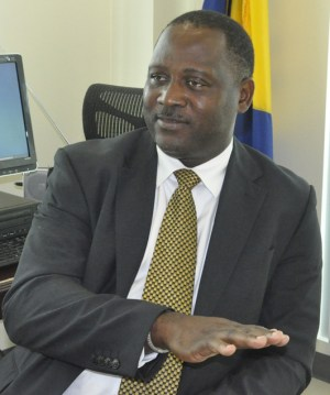 Minister of Industry, Commerce and Small Business Development Donville Inniss