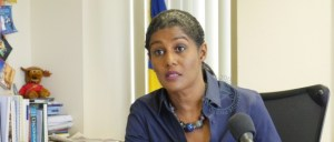 Minister of Labour Dr Esther Byer