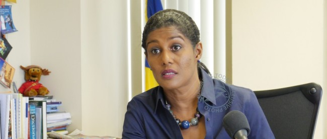 Minister of Labour Dr Esther Byer Suckoo
