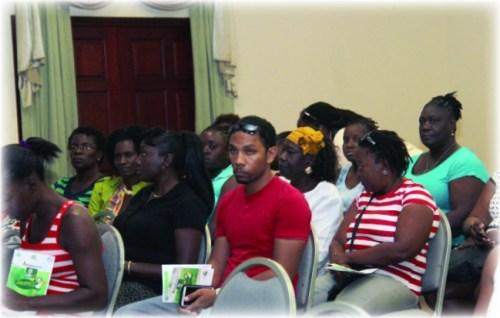 Participants attending the Agrofest 2015 Food Vendors Workshop.